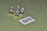 25mm napoleonic / russian - 4 engineers - inf (5677)