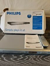 DVD Player Philips DVP3120 fully working dolby digital manual remote silver