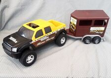 Tonka Horse Racing Pickup Truck And Trailer