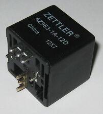 Zettler AZ983 80A SPST Automotive Relay - 14 VDC SPST Contacts - 12 V DC Coil
