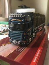 Corgi Modern Trucks Cc13721 Scania With Straw Load