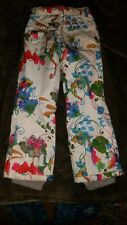 Spyder Girls Youth Size 10 Snow Pants Ski Snowboard Adj. waistband, hem extends!