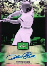 2012 LEAF METAL DRAFT PETE ROSE PRISMATIC GREEN AUTO AUTOGRAPH 08/10 REDS SSP