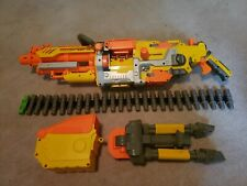 Nerf Vulcan EBF-25 Blaster N-Strike Gun with Tripod Ammo Box and Belt