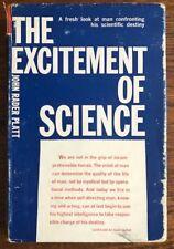 The Excitement of Science, by John Radar Platt, Hardcover 1962 first printing