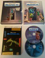 DVD - Disney Pixar Monster Inc 2 Disc Collector's Edition DVD PAL Region 2 UK