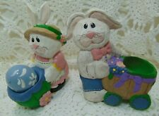 Midwest of Cannon Falls Eddie Walker 2 Easter Bunnies Rabbits