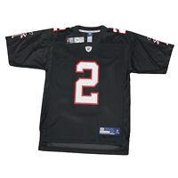 Matt Ryan #2 Atlanta Falcons Reebok Mens Medium Black White Red NFL Jersey