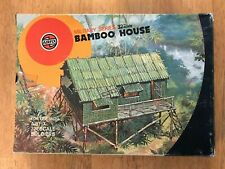 Vintage Airfix 1/32 Scale Bamboo House - sealed in original plastic bag in box