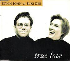 Elton John&Kiki Dee True Love Maxi-Single UK CD Single