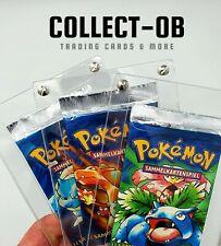 1x Pokemon Booster Acryl Schutz Gehäuse Case Box protective z. B. Base Set WOTC