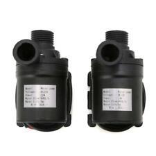 Solar Water Heater Brushless Motor Circulation Water Pump DC12V 24V 800L/H 5m