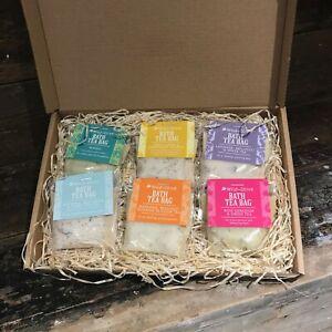 Wild Olive Bath Tea Bags - Dead Sea Salt  - The Perfect Gift