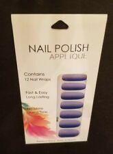 Nail Polish Stickers - Blue/Ombre (Convenient/Quick)