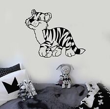 Wall Stickers Vinyl Decal Tiger Nursery Cartoon For Kids Animal ig1426
