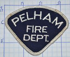 CANADA, PELHAM FIRE DEPT VINTAGE PATCH