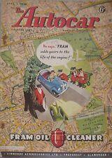 Autocar magazine 2/4/1948 Issue 2735