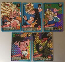 Cartes Dragon Ball Z Super Battle / Power Level Part 14 #Prism Set 5/6 Cards