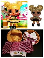 LOL Surprise QUEEN BEE Series 1 Doll Gold Ball AUTHENTIC COMPLETE Sealed Beyoncé