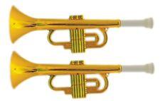 Musik & Instrumente Große Spielzeug-Trompete 35 cm Gold Tröte Fanfare Abbildung ähnlich NEU