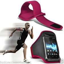 Adjustable Quality Sports Strap Armband Pouch Case Jogging Running Gym for Apple