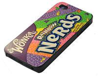 NERDS Wonka Rainbow Sweets Vintage Apple iPhone 4/4S/5/5S/5C/6 Hard Case Cover