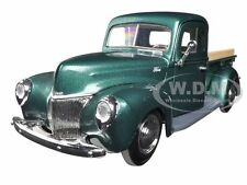 1940 FORD PICKUP TRUCK GREEN 1:24 DIECAST MODEL CAR BY MOTORMAX 73234