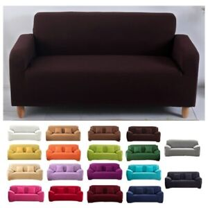 Stretchable Elastic Sofa Covers Living Room L Shape Sofa Cover For Corner Sofa