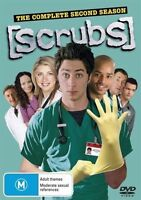 Scrubs : Season 2 (DVD, 2005, 4-Disc Set) NEW