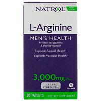 Natrol L - Arginine 3000 mg 90 Tablets New in Box