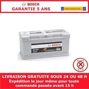 Bosch S5015 Batterie de Démarrage Pour Voiture 12V 110Ah - 393x175x190mm