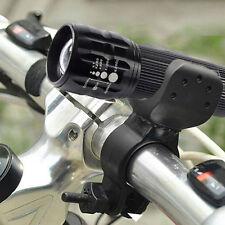 Cree Q5 1200lm LED Radsport Fahrrad Kopf Front Licht Taschenlampe+360 Neu.