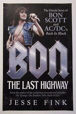 Bon Scott - Ac/Dc `The Last Highway` poster