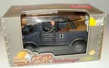 1:18 Ultimate Soldier WWII German Kubelwagen Light Transport Vehicle with Driver