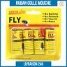 LOT Attrape Mouche Ruban Glue Tue Mouche Colle Piège Insecte Volant NON TOXIQUE