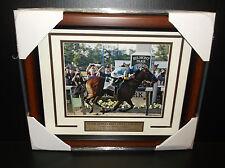 Belmont Stakes Triple Crown AMERICAN PHAROAH Victor Espinoza FRAMED 8X10 PHOTO