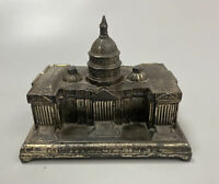 Vintage J.B. Jenning Bros. Capitol Building Washington DC Metal Trinket Box 1958
