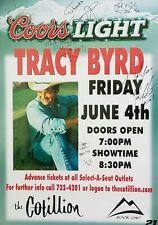 Tracy Byrd (and band members) Autographs