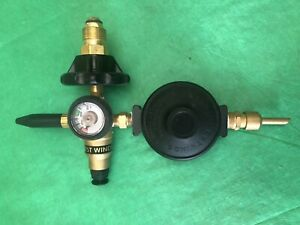 Western Westwinds Auto Shut Off Balloon Inflator Tapered Foil Valve 3000 PSI