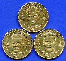 3 Team Canada Hockey Coin Tokens By McDonald's 34 mm Diameter Each