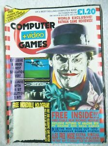 75162 Issue 95 CVG Computer And Video Games Magazine 1989