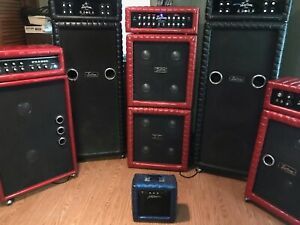 Vintage Kustom Amps & Plush Amp. Bass and Guitar Amplifier Collection