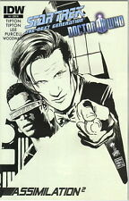 Star Trek TNG and Doctor Who Assimilation 2 Comic #4 Incentive Cover, 2012 NEW