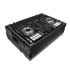 ProX Road Flight Compact Slim Case for Pioneer DDJ SX / SX2 / DDJRX - All Black