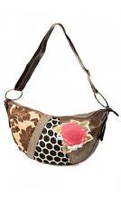 Desigual Authentic Women's Bolso Judia Patch Big Rose Bag Handbag