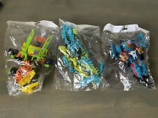 Hasbro Transformers Construct Bots Thundercracker Slash Dino Lot
