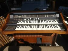 WERSI GAMMA DX 500  ORGAN  MADE IN GERMANY  WITH BENCH AND  FOOT  PEDAL BOARD
