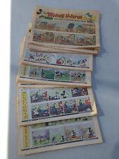 Vintage Joblot 62 Of 'Disney Mirror,Walt Disney comics Daily Mirror 1991-2