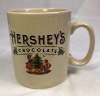 Galerie Large Oversize Hersheys Chocolate Coffee Cup Mug Vintage Style Christmas