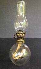 Vintage Miniature Oil Lamp / Night Lamp ~